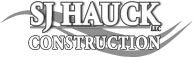 SJ Hauck New Home Construction Logo