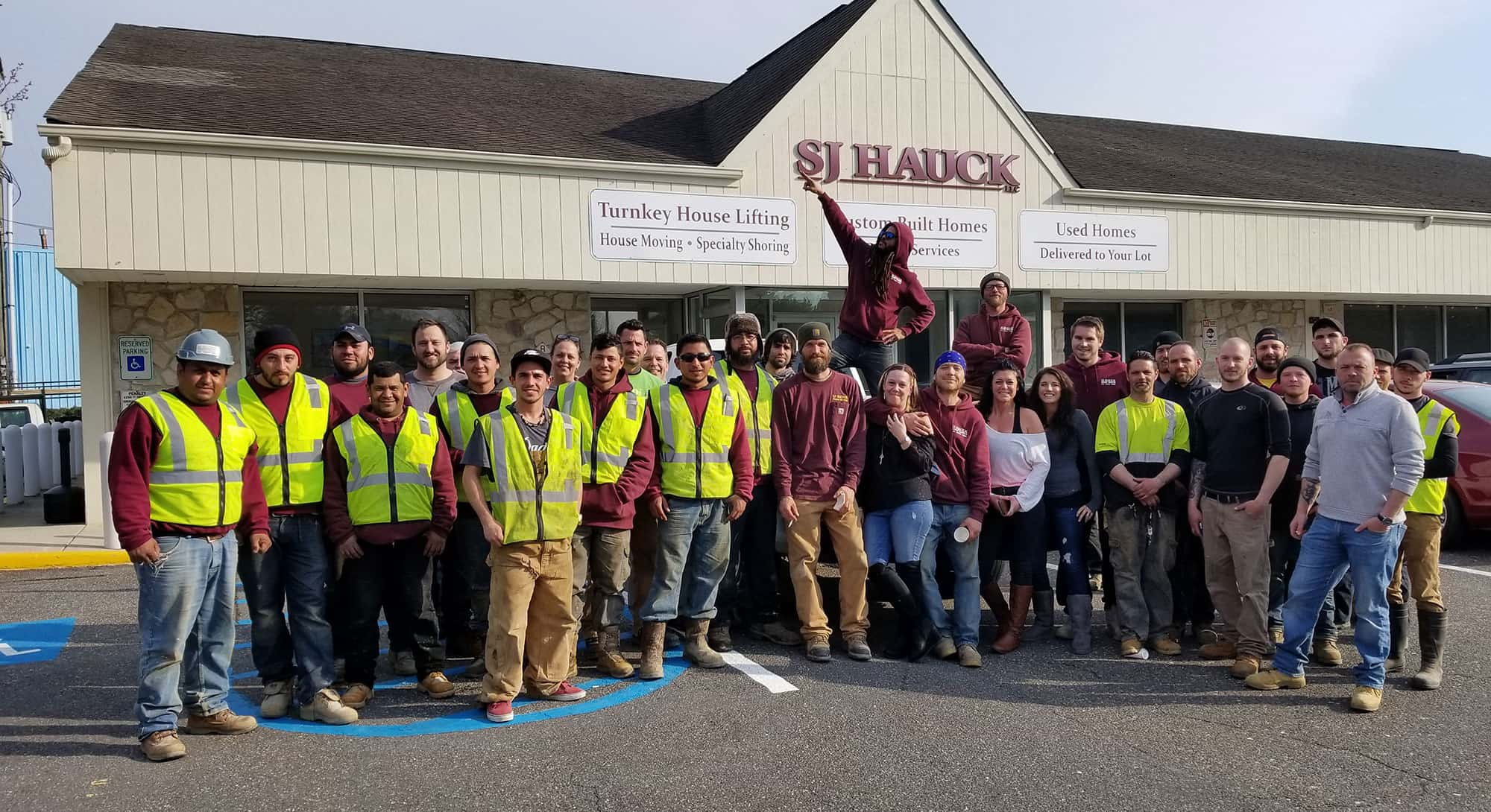 SJ Hauck Construction Team Group Shot