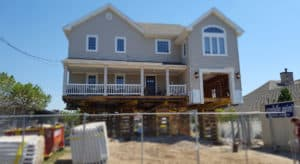 House lifting project in Wildwood NJ