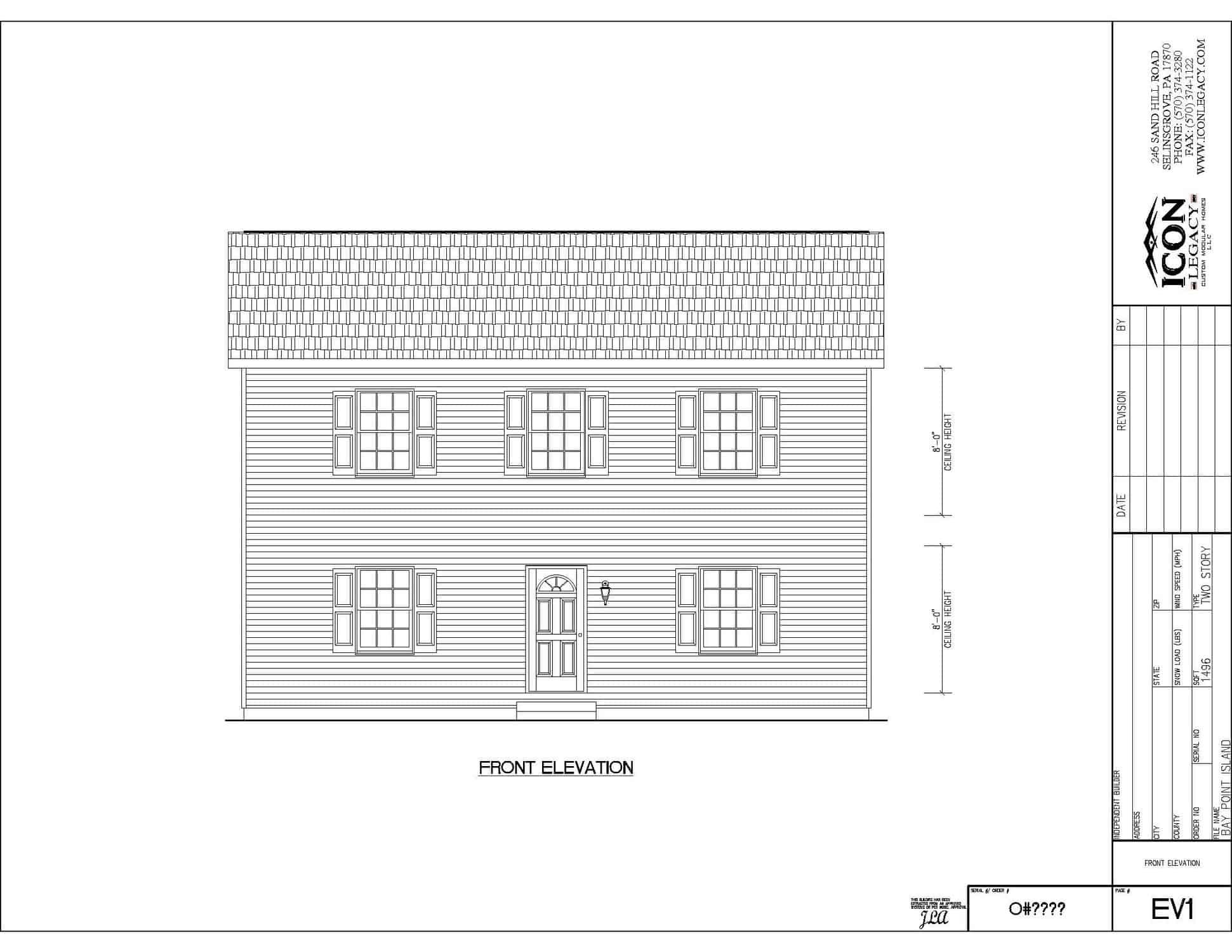 Bay Point Modular Home