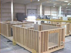 Modular homes at the factory